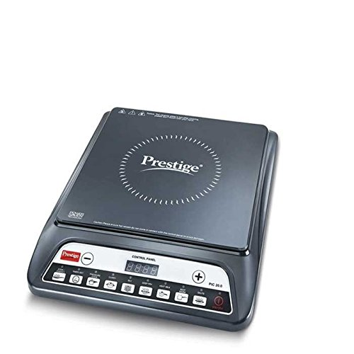 Prestige PIC 20 1200-Watt Induction Cooktop (Black)