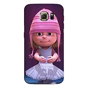 PINK DOLL BACK COVER FOR SAMSUNG GALAXY S6