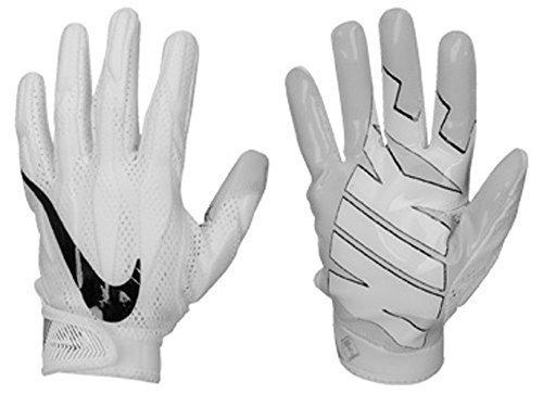 Nike Men's Superbad 4 Football Gloves White/Black/Grey GF0494 101 Size Medium (White Nike Football Gloves compare prices)