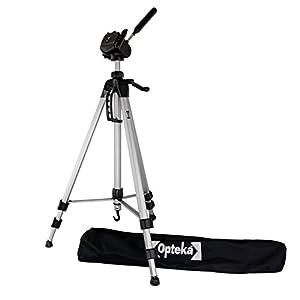 Opteka OPT7000 70-inch Professional Tripod for All Canon Sony, Nikon, Samsung, Panasonic, Olympus, Kodak, Fuji Cameras and Camcorders