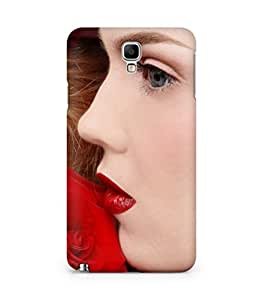 Amez designer printed 3d premium high quality back case cover for Samsung Galaxy Note 3 Neo (Beautiful American girl)