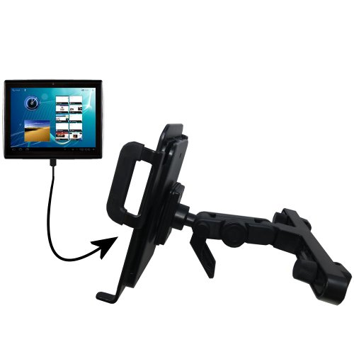 Gomadic Brand Unique Vehicle Headrest Display Mount for the Le Pan TC1020 at Electronic-Readers.com