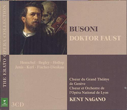 CD : BUSONI / FISCHER-DIESKAU / HENSCHEL / HOLLOP - Doktor Faust (3 Discos)