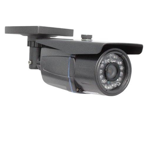 "Gw Professional 700Tvl Cctv Surveillance Video Camera - With 1/3"" Sony Exview Had Ccd Ii Effio-E Dsp Inside - Waterproof - Button Control - 700 Tv Lines 2.8~12Mm Varifocal Lens 42Pcs Ir Led 115Ft Ir Wdr (Wide Dynamic Range) - Osd Menu"