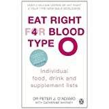 Eat Right for Blood Type O: Individual Food, Drink and Supplement lists (Eat Right for Your Blood Type)by Peter J. D'Adamo