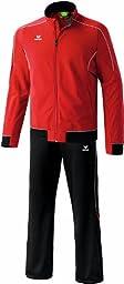 Erima Men\'s Gold Medal Tracksuit Polyester 116 Red/Black/White