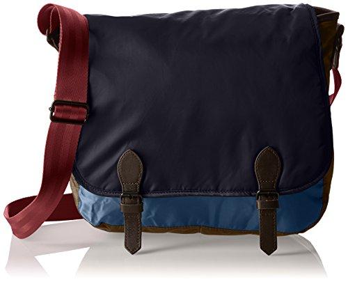 Bensimon F19013C40216, Borsa a spalla donna , Blu (Bleu (5322 Bleu/Marron)), Taille Unique