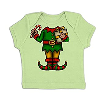 Elf Head Costume Baby T-shirt