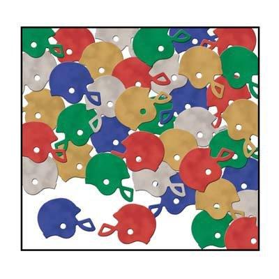 Fanci-Fetti Football Helmets (multi-color) Party Accessory  (1 count) (1 Oz/Pkg)