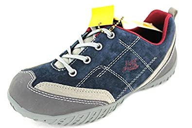 BOYS CATERPILLAR NEW NAVY/POD GREY SUEDE LACE UP SHOES 400794 UK 3.5 EUR 36