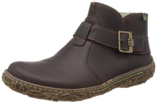 El Naturalista Womens Nido Brown Boots N734 7 UK, 40 EU