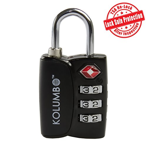 TSA Lock - 3 Digit Combination - Best TSA Approved