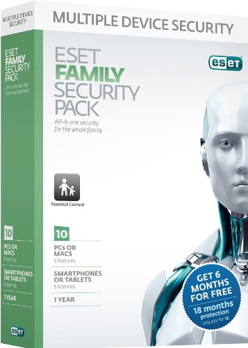 Eset Family Security Pack (PC/Mac/Android/Linux)