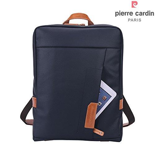 pierre-cardin-casual-mochila-para-portatil-14-pulgadas-impermeable-lienzo-recubierto-y-bolso-de-homb