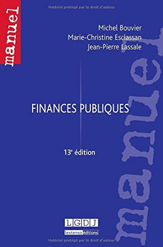 Finances Publiques, 13eme ed.