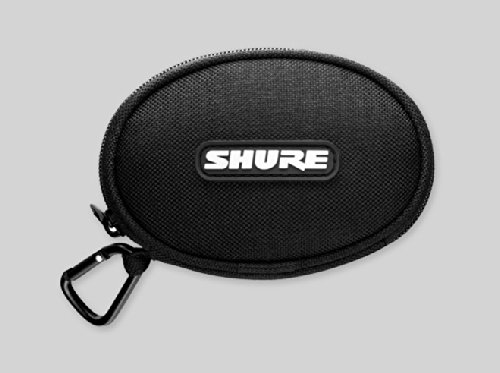 Original Shure Se210 Se310 Se420 Se530 Se215 Se315 Se425 Se535 Eascase Soft Zippered Earphones Case Pouch