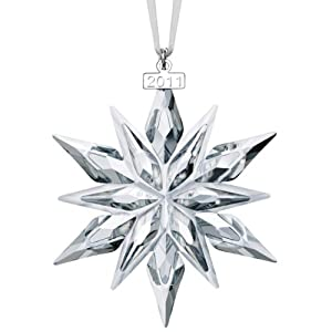 Swarovski 2011 Annual Edition Crystal Snowflake Ornament