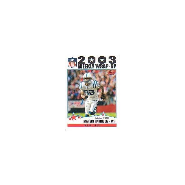 2004 Topps #295 Marvin Harrison WW