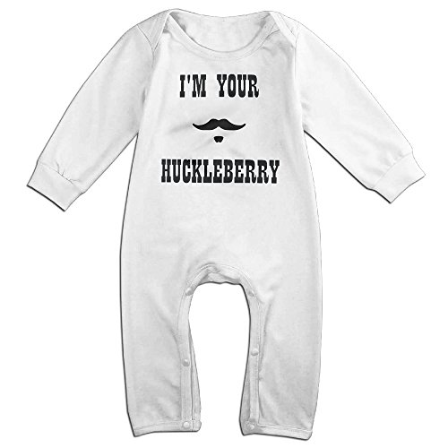 I'm Your Huckleberry Doc Holliday Short Sleeve Baby Coveralls Bodysuit