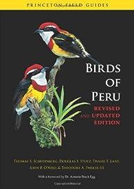 Birds of Peru par Thomas S. Schulenberg