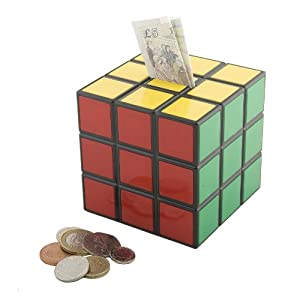 Spinning hat rubik 39 s money box toys games for Awesome money box