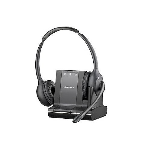 Plantronics (83544-01) Savi 3 In 1 Binaural Headset For Your Pc, Mobile And Desk Phone