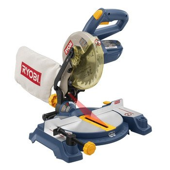 Factory-Reconditioned Ryobi ZRTS1141L 9 Amp 7-1/4-in Miter Saw with Laser