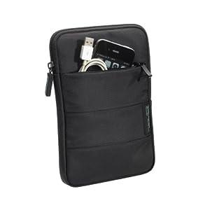 PEDEA Tablet PC Tasche schwarz für 7 Zoll (17,8cm) mit Zubehörfach