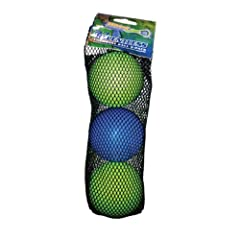 Buy HEADstrong Foundation Relentless Lime Green Blue Lacrosse Balls 3 Pack [Misc.] by HEADstrong
