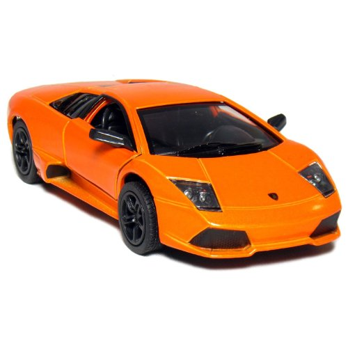 "5"" Lamborghini Murcielago LP640 1:36 Scale (Orange) by Kinsmart"