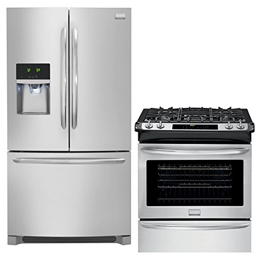 Frigidaire Gallery 2-Piece Smudge-Proof Stainless Steel Kitchen Package with FGHF2366PF 36