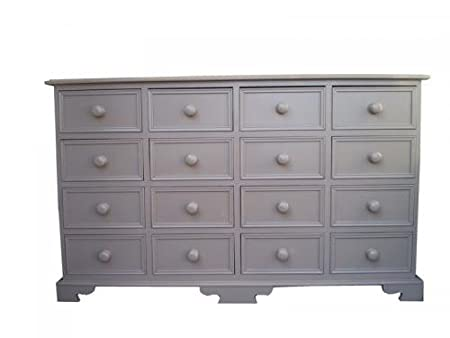 Wye Pine Painted Merchant Chest - Colour: Cream