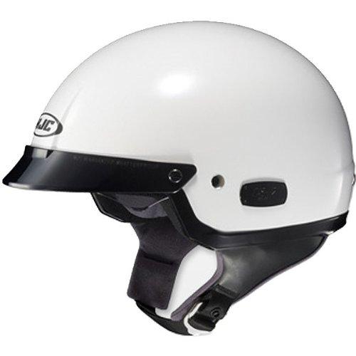 HJC Solid Men's IS-2 Harley Motorcycle Helmet – White / Medium
