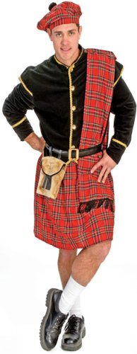 Adult Men's Traditional Scottish Halloween Costume