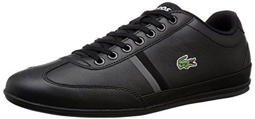 Lacoste Men's Misano Sport 116 1 Fashion Sneaker, Black, 9 M US