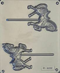 Show Horse Pop Candy Mold