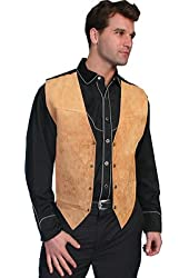 Scully Men's Suede Leather Vest