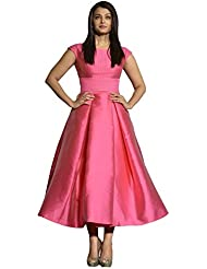 Rudraksh Fashion Women's Silk Cotton Kurti (kurti Ashveriya_Multi-Coloured_Free Size)