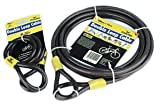 Impressive-Power STERLING SECURITY PRODUCTS - 121C - DOUBLE LOOP CABLE - 1.2M - (Pack of 1) - Min 3yr ClevaUK Warranty