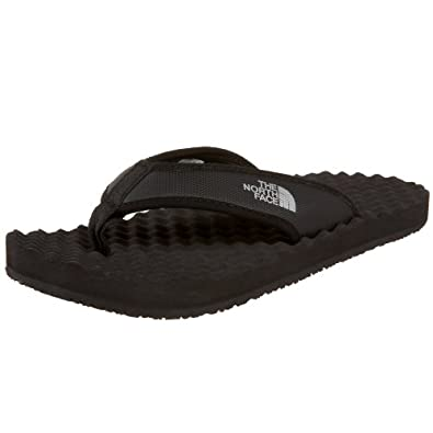 THE NORTH FACE Men's BASE CAMP FLIP-FLOP black black (Size: 39)