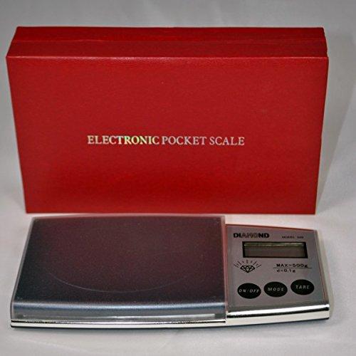 GrecoShop Balance numérique Diamond 0,1 à 500 g