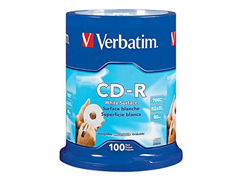 verbatim-700mb-52x-80-minute-blank-white-surface-disc-cd-r-100-disc-spindle-94712