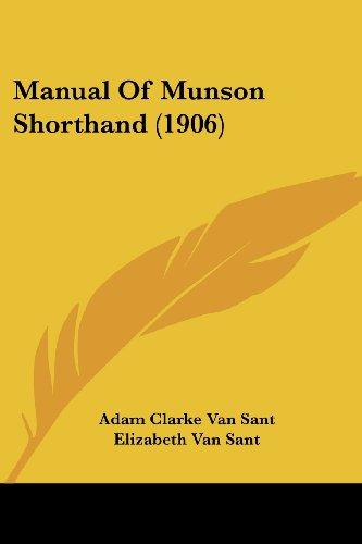 Manual of Munson Shorthand (1906)