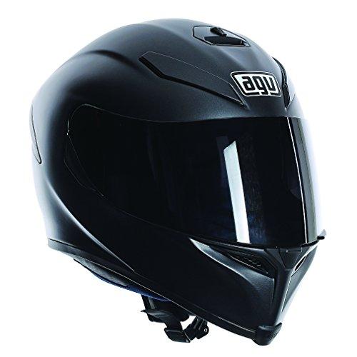 agv k5 sv plain moto casque matt black. Black Bedroom Furniture Sets. Home Design Ideas