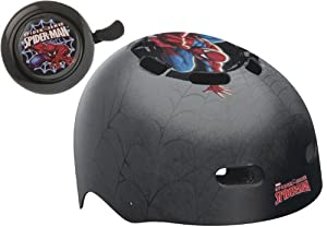 Bell Automotive Products Bell Spider-Man Spider Tracer Child Bike Helmet with Spider-Man Bell (Black) at Sears.com