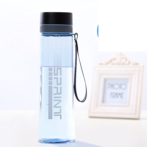 Large-capacity space cup/Portable cup/Plastic sports bottle/Outdoor Cup/Creative water bottle/Readily Cup-B