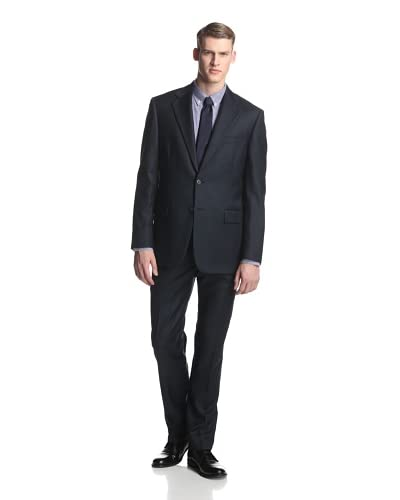 Joseph Abboud Men's Solid Soft Suit With Flat Front Pant