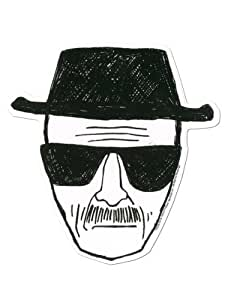 Autocollant Breaking Bad : Heisenberg Sous Licence Officielle