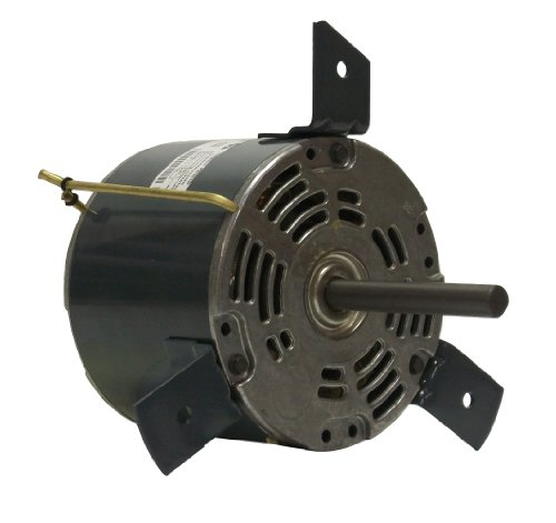 Fasco D1062 5.0-Inch Diameter Psc Motor, 1/20-1/30-1/40 Hp, 265 Volts, 1100 Rpm, 3 Speed, .4-.3-.2 Amps, Cw Rotation, Sleeve Bearing