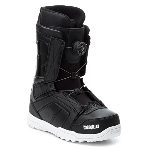 thirtytwo Men's STW Boa Snowboard Boot,Black,8 D US
